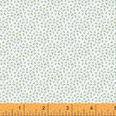 Windham Fabrics ~ Modern Country ~ Teeny Flowers Aloe