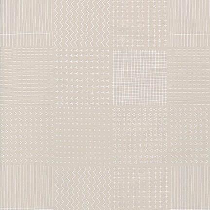 Robert Kaufman Fabrics ~ Blueberry Park ~ Flowerbed Oyster