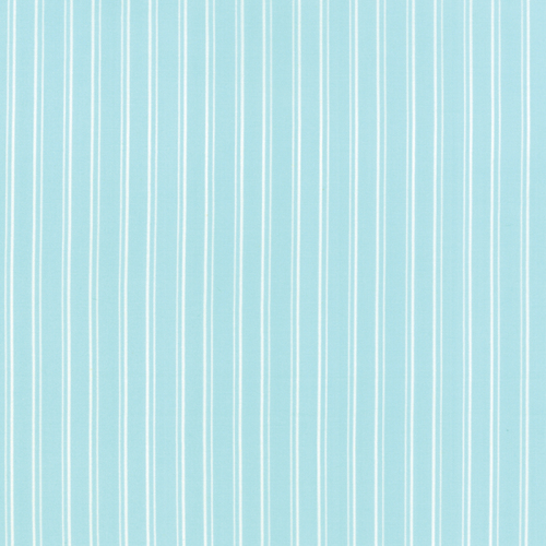 Moda Fabric ~ Kindred Spirits ~ Stripe in Light Aqua