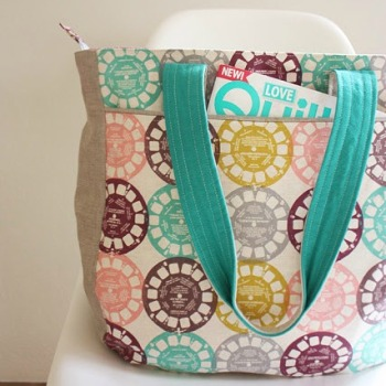Noodlehead Patterns ~ Super Tote