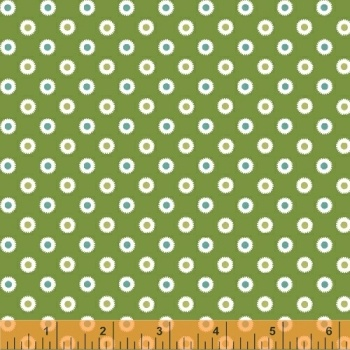 Windham Fabrics ~ Hazel ~ Dot Green