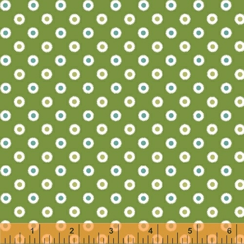 Windham Fabrics ~ Hazel ~ Dot Green