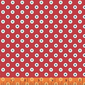 Windham Fabrics ~ Hazel ~ Dot Red