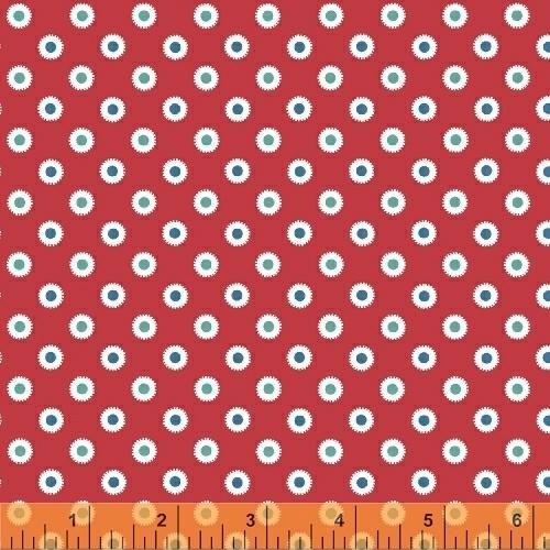 Windham Fabrics ~ Hazel ~ Dot Red
