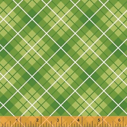 Windham Fabrics ~ Hazel ~ Plaid Green