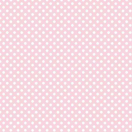 Riley Blake ~ Le Creme Basics ~ Small Dot Pink