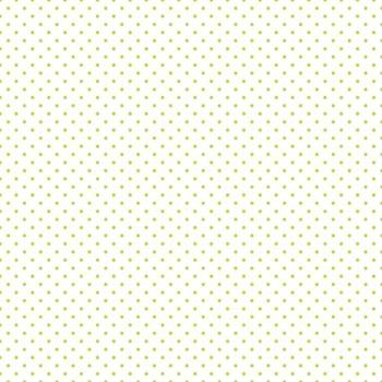 Riley Blake ~ Basics ~ Swiss Dot Lime on White