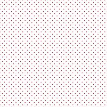 Riley Blake ~ Basics ~ Swiss Dot Red on White