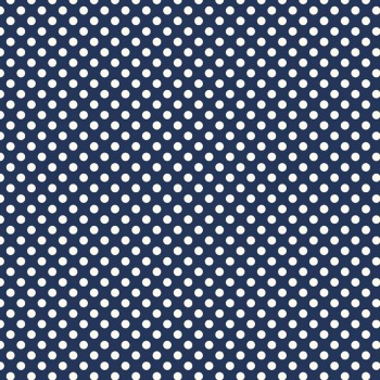 Riley Blake ~ Basics ~ Small Dot Navy