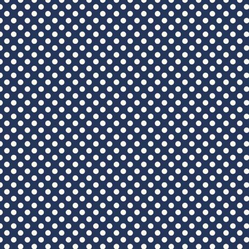 Riley Blake ~ Le Creme Basics ~ Small Dot Navy