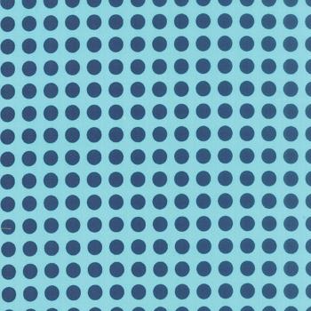 Moda Fabrics ~ Gooseberry ~ Polka Dots Midnight on Sky