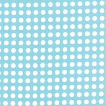 Moda Fabrics ~ Gooseberry ~ Polka Dots Sky