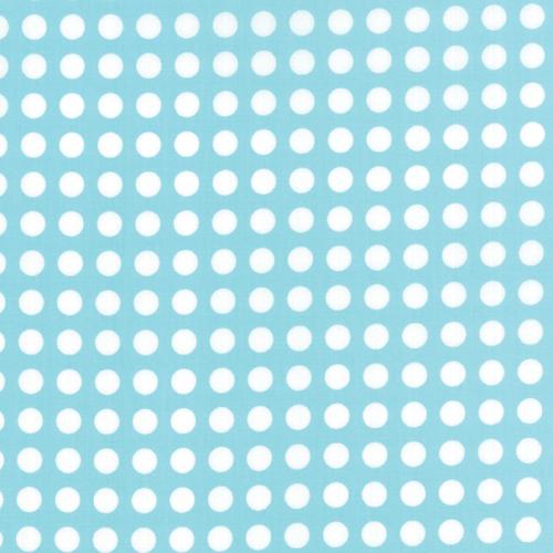 Moda Fabrics ~ Gooseberry ~ Polka Dots Sky on Cloud
