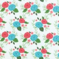 Moda Fabrics ~ Gooseberry ~ Bouquet Cloud