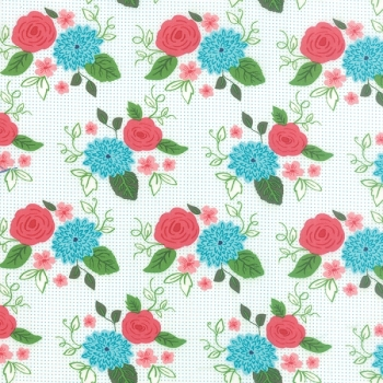 Moda Fabrics ~ Gooseberry ~ Bouquet Cloud