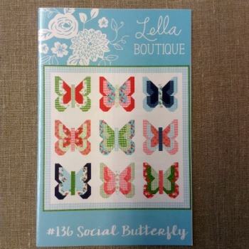 Lella Boutique Patterns ~ #136 Social Butterfly