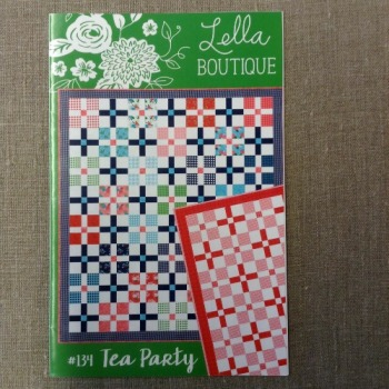 Lella Boutique Patterns ~ #134 Tea Party