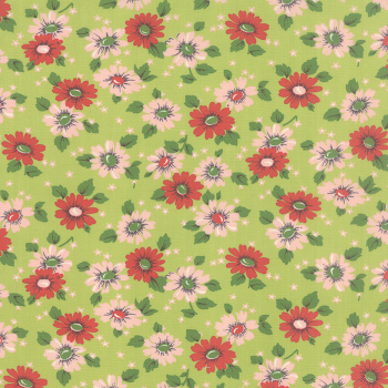 Moda Fabrics ~ Purebred ~ Feedsack Green