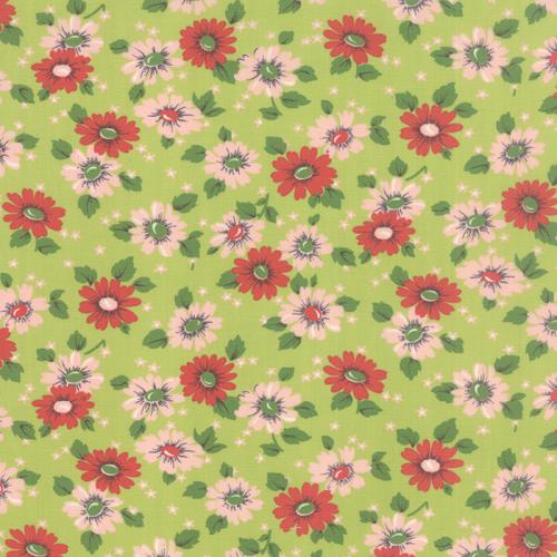Moda Fabrics ~ Purebread ~ Feedsack Green