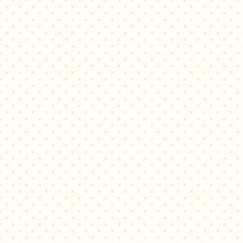 Riley Blake ~ Le Creme Basics ~ Swiss Dot Cream on Cream