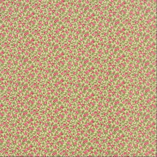 Moda Fabric ~ Windermere ~ Climbing Rose Clover