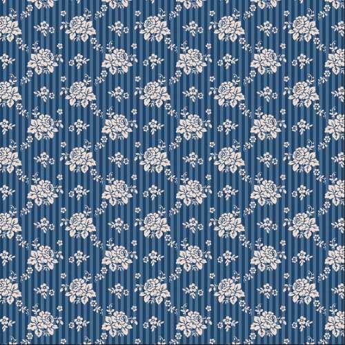 Tilda ~ Pardon my Garden ~ Emily Dark Blue