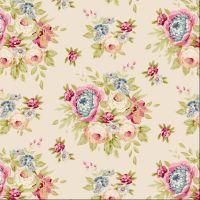 Tilda ~  Spring Diaries ~ Garden Flowers Dove White