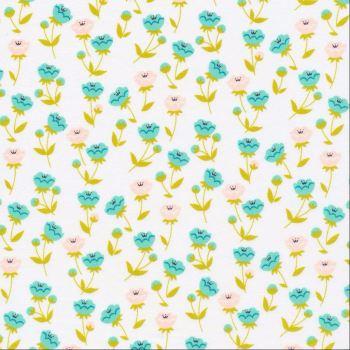 Cloud 9 ~ Vignette ~ Buttercup Turquoise