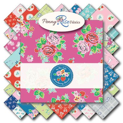 Penny Rose Fabrics ~ Strawberry Biscuit
