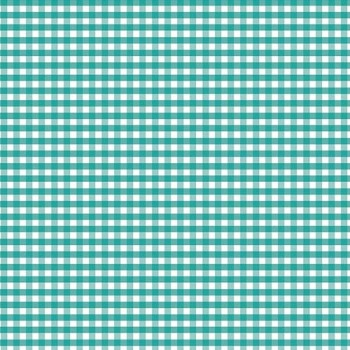 "Riley Blake ~ Basics ~ 1/8"" Small Gingham Teal"