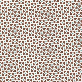 Robert Kaufman Fabrics ~ Just One Of Those Days ~ Cubes Brown