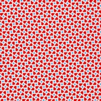 Robert Kaufman Fabrics ~ Just One Of Those Days ~ Cubes Red