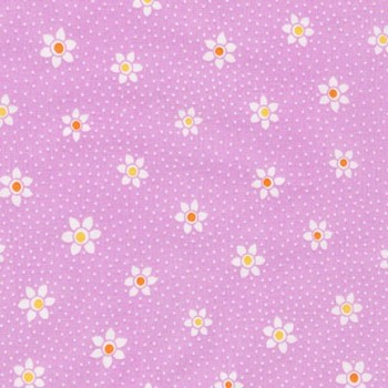 Robert Kaufman Fabrics ~ Just One Of Those Days ~ Flower Dots Petunia