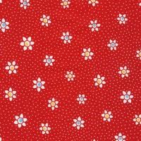 Robert Kaufman Fabrics ~ Just One Of Those Days ~ Flower Dots Red