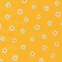 Robert Kaufman Fabrics ~ Just One Of Those Days ~ Flower Dots Screamin' Yellow