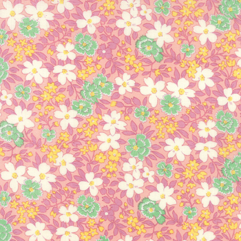 Moda Fabric ~ 30's Playtime ~ Blossoms Betty's Pink