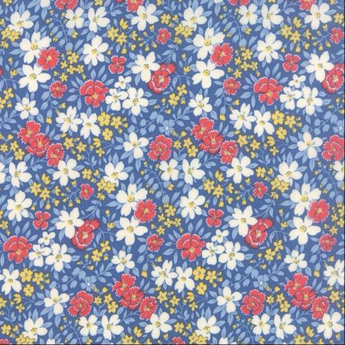Moda Fabric ~ 30's Playtime ~ Blossoms Sea