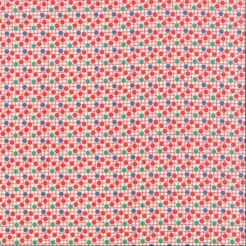 Moda Fabric ~ 30's Playtime ~ Sprinkles Cherry