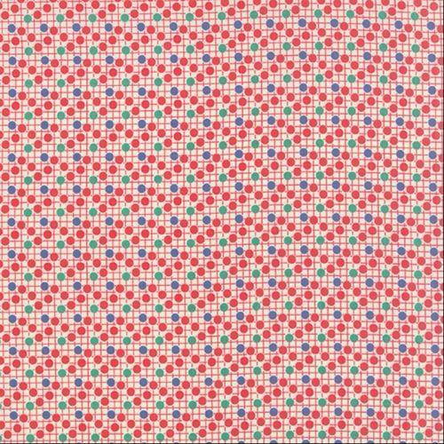 Moda Fabric ~ 30's Playtime ~ Sprinkles Cherry