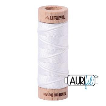 Aurifil ~ Aurifloss ~ 2024 ~ White