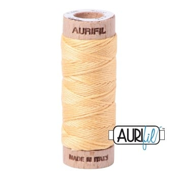 Aurifil ~ Aurifloss ~ 2130 ~ Medium Butter