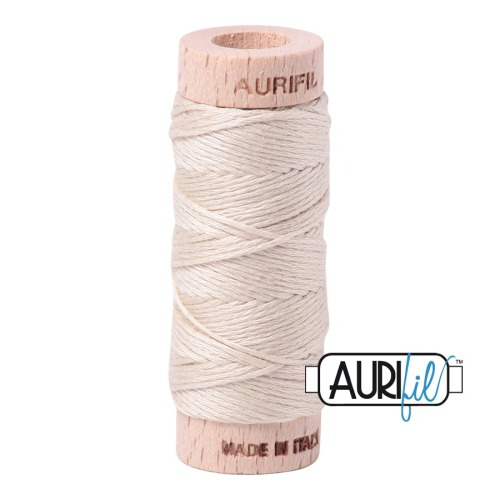 Aurifil ~ Aurifloss ~ 2310 ~ Light Beige