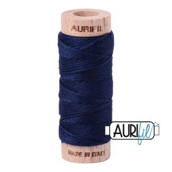 Aurifil ~ Aurifloss ~ 2784 ~ Dark Navy Blue