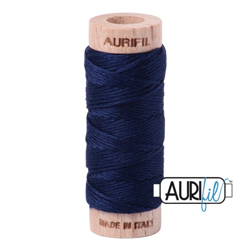 Aurifil ~ Aurifloss ~ 2784 ~ Navy Blue