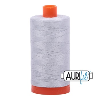 Aurifil ~ 50 wt Cotton ~ 2600 ~ Dove Grey Large Spool