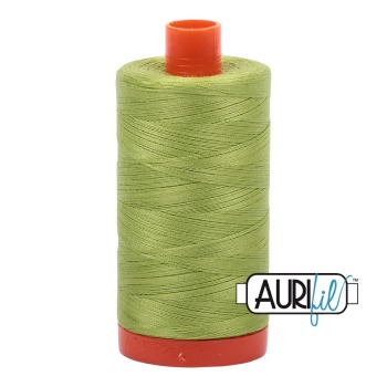 Aurifil ~ 50 wt Cotton ~ 1231 ~ Spring Green Large Spool