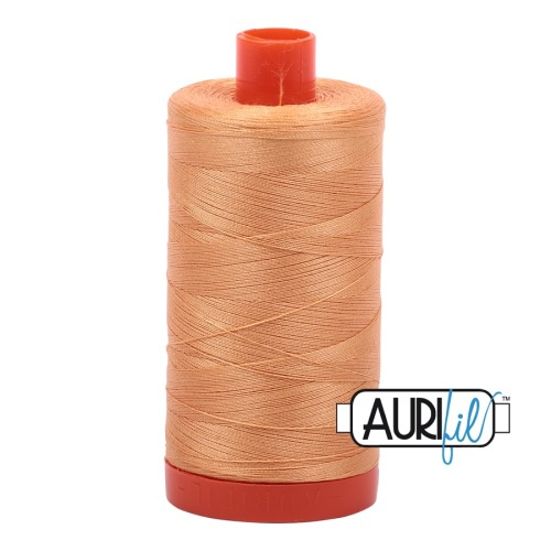 Aurifil ~ 50 wt Cotton ~ 2214 ~ Pale Orange