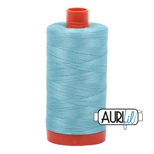 Aurifil ~ 50 wt Cotton ~ 5006 ~ Aqua