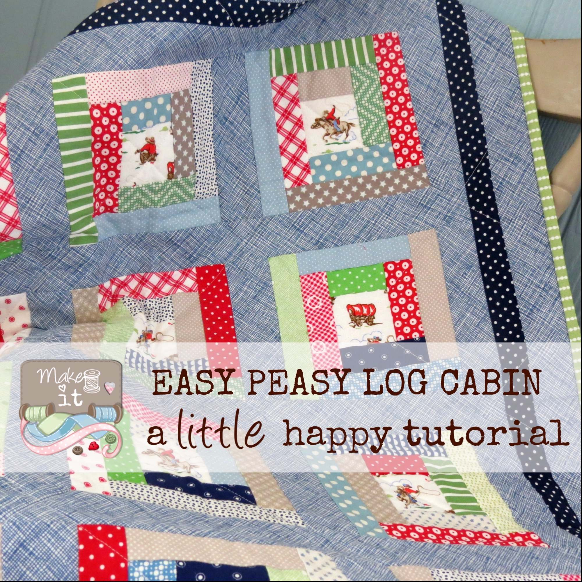 Make it Easy Peasy Log Cabin