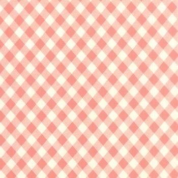 Moda Fabrics ~ Vintage Picnic ~ Check Coral Pink